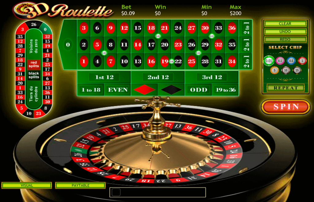 roulette betting rules