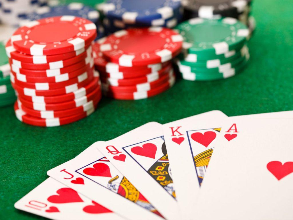 Poker gambiling